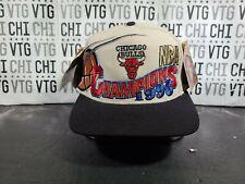 Chicago Bulls Vintage Snapback Locker Room Championship Hat 1996 The Last Dance