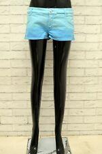 Pantaloncino DENNY ROSE Donna Taglia 48 Jeans Pants Shorts Bermuda Blu Corto