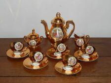 ANCIEN SERVICE à Café ou Thé en Porcelaine Doré BAVARIA