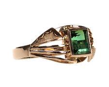Damen Ring in Gold 585 mit grünem Turmalin Gr. 56 (D1769)