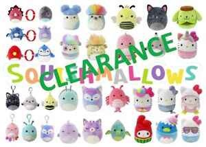 CLEARANCE! Squishmallows Genuine Kellytoy Soft Plush 25% OFF! Same Day Shipping