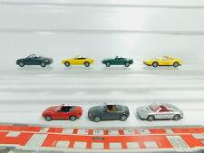 BO615-0,5 # 7 X Wiking H0 / 1:87 Camión: Ferrari Iaa '95+ Audi Tt Cabrio Etc.