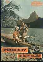 """IFB Illustrierte Film Bühne Nr. 6240 """" Freddy und das Lied der Südsee """""""