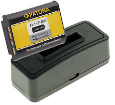 USB Ladegerät +  Battery Akku NP-BX1 1000mAh für Hasselblad Stellar / Stellar II