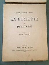 La Comédie en peinture - Tome 1 et 2 - Vibert J-G 1902 - Numéroté et signé - Q2