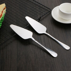 Stainless Steel Serrated Cake Cutter Pie Pizza Shovel Kitchen Pastry Spatulas HO