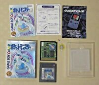 Gameboy pokemon Silver GB game boy color GBC version Nintendo tested Japan