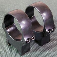 Picatinny scope rings,mounts, 34mm, MEDIUM height, Quality STEEL GLOSS BLUE.