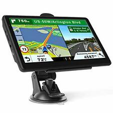 Car Gps Navigation 7 Inch Touch Screen Garmin With Maps Spoken Direction New