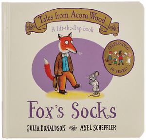 Fox'S Socks: 20Th Anniversary Edition (Tales from Acorn Wood) Board book NEW