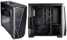 Caja Corsair Carbide SPEC-04 negra y gris Diseño angular, ventana lateral Nuevo!