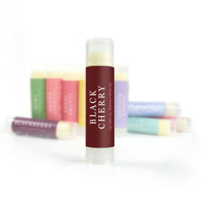 Black Cherry Lip Balm - Natural Beeswax Lip Balm Handmade Homemade Organic