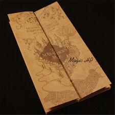 Harry Potter Marauder's Map Mini version Collectible Retro Parchment Map