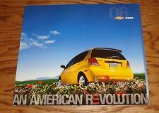Original 2006 Chevrolet Aveo Deluxe Sales Brochure 06 Chevy