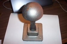 "Blacksmith Tinsmith Single Stake Plate Anvil Tool and 4"" Mushroom Pexto Stake"