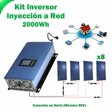 Kit Solaire injection a ROUGE 2000Wh kit consommation auto
