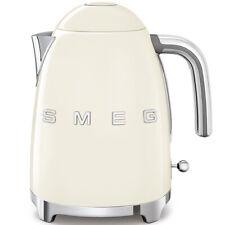 SMEG Wasserkocher KLF03CREU Creme, Retro Design im Stil der 50er Jahre