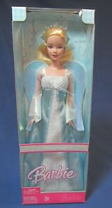 Holiday Angel Barbie Doll – 2006 – Dressed in Pale Blue -NRFB