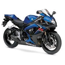 08 09 For Suzuki GSXR600 750 K8 K9 Injection Blue Plastic Fairing Bodywork Set