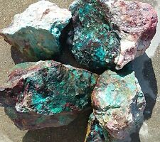 1# CHRYSOCOLLA ROUGH with Malachite Cuprite Quartz *Cabs * Slabs *By the Pound