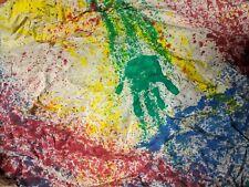 CUSTOM STUDIO DYNAMICS CHILDRENS HAND PAINTED MUSLIN BACKGROUND PROP BACKDROP