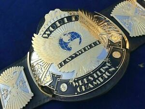 NEW WWF WINGED EAGLE CHAMPIONSHIP TITLE Replica WRESTLING BELT Dual Adult Size