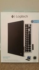Logitech 920-005460 Keyboard Folio Case for iPad 2, 3G, 4G - Carbon Black - New
