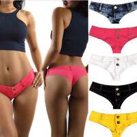 Sexy Fashion Women Girls Low Waist Club-wear Short Mini Jeans Pants Denim Shorts