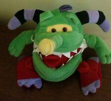 "Trumpasaurus Monster.com 6"" Plush Monster Stuffed Animal Doll green"