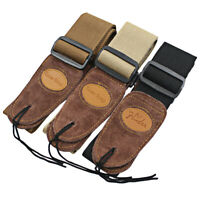 Widening Folk Acoustic Electric Guitar Bass Adjustable Belt Guitar Strap Newly