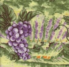 Grape Fields - 54 Inches Extra Wide - Quilt Fabric - Free Shipping - 2 Yards