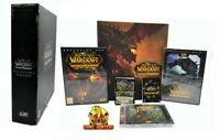 WOW World of Warcraft Cataclysm Collectors Edition Big Box PC Game MMO RPG