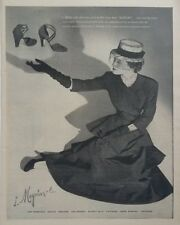 1948 I Magnin Womens Shoe Fashion Footwear San Francisco Photo Vintage Print Ad