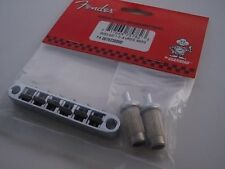 Genuine Fender Import Jazzmaster Jaguar Guitar Bridge With Mounts New in Package