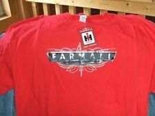 Farmall McCormick Tractor Machinery Farm Equipment New T-Shirt RED SIZE 2X XXL
