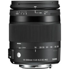 Sigma 18-200mm F3.5-6.3 DC Macro OS HSM 'C' Lens - Sony A Fit