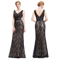 Womens Mermaid Long Formal Evening Gown Ball Wedding Party Bridesmaid Prom Dress
