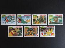 Walt Disney's Pluto`s Christmas Tree mint stamp set from Redonda UMM