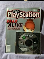 Official PlayStation Magazine & Demo Disc 5 Vol. 1 Issue 5 1998 Dead or Alive