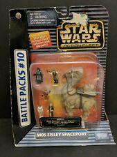 Galoob Micro Machines Star Wars Action Fleet Mos Eisley Spaceport 1996 moc