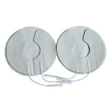 2pcs 2.0mm Reusable Breast Electrode Pads for Lactation or Toning  Breast Pads