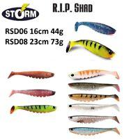 Storm R.I.P. Shad Soft Lure Bait Predator 16cm 44g 23cm 73g Various Colours