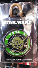 Yoda the Jedi Master Star Wars Disney L Paris Dlrp Dlp 2015 Round 3D Pin On Pin