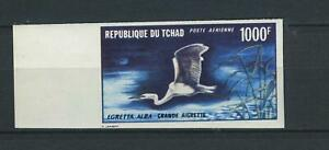 Tchad 399 U, 1000 F geschnitten, Randmarke #g978