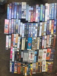 AssortedMovies  VHS Bulk  Lot  over 300