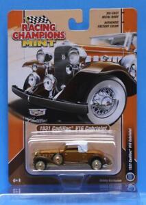 RACING CHAMPIONS 2020 1931 Cadillac V16 Burnt Orange, Brown Metallic GOLD STRIKE