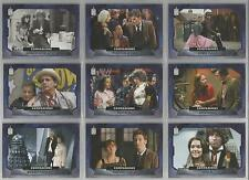 """Topps Doctor Who 2015 - """"Companions"""" Set of 10 Chase Cards #C1-C10"""