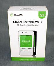 GlocalMe G3 4G LTE Mobile WiFi Hotspot Router Broadband Modem Unlocked MiFi Gray