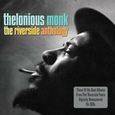 THELONIOUS MONK - THE RIVERSIDE ANTHOLOGY - 3 OF HIS BEST ALBUMS 3CD
