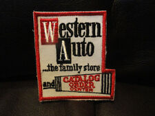 Western Auto the Family Store and Catalog Patch - Vintage - New - Original